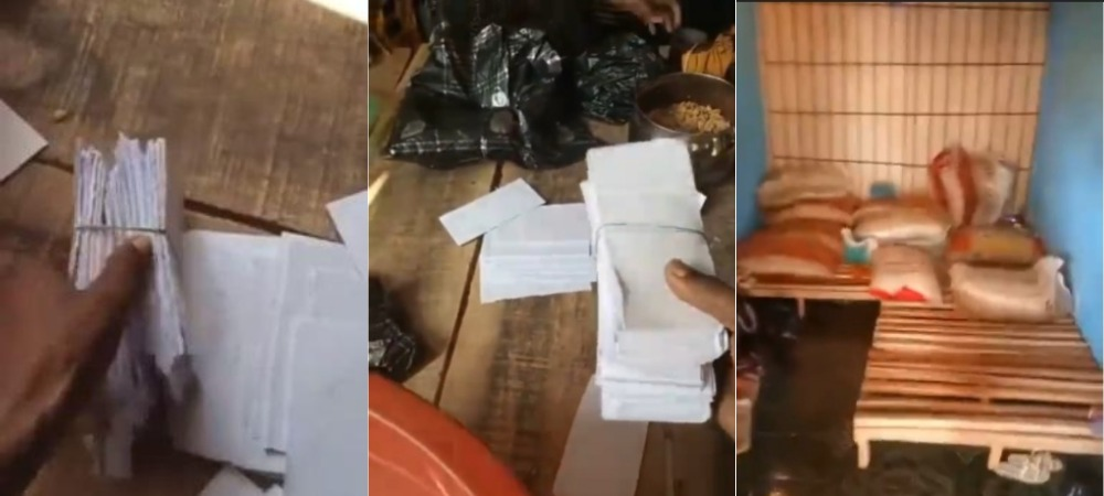 Vendor Cries Out As N400K Cash Paid For 20 Bags Of Rice Turns To Paper In Delta [Video] 1