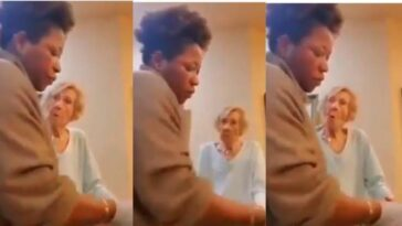 Elderly White Woman Caught On Camera Spitting On Black Caregiver Multiple Times [Video] 5