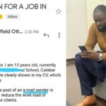 Nigerian Man Employs 13-Year-Old Niece To His Law Firm After She Begged Him For Money 27