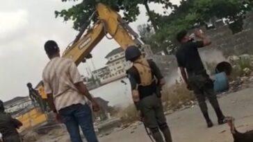 Lagos Government Demolishes Community Whose Resident Witnessed Lekki Shooting 1