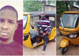 Man Gifts Tricycle To Bike Man Who Gave Him Free Rides For 5 Years Back In University 5