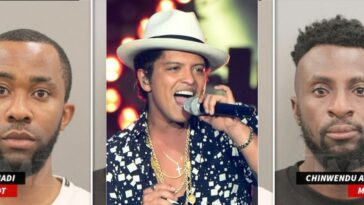 Two Nigerians Arrested For Posing As Bruno Mars To Defraud American Woman Of $100,000 5