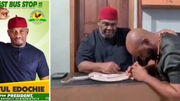 Veteran Actor, Pete Edochie Endorses His Son, Yul To Become Next Nigerian President [Video] 4