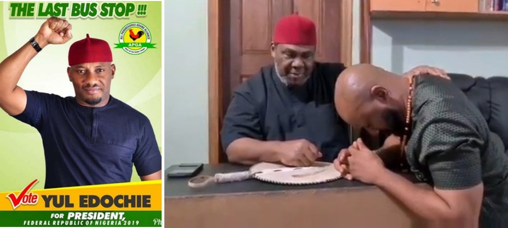Veteran Actor, Pete Edochie Endorses His Son, Yul To Become Next Nigerian President [Video] 1