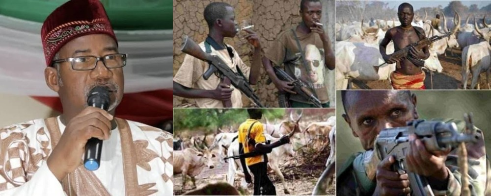 Bauchi Governor Defends Fulani Herdsmen Carrying Ak-47, Says It's For Self Defence 1
