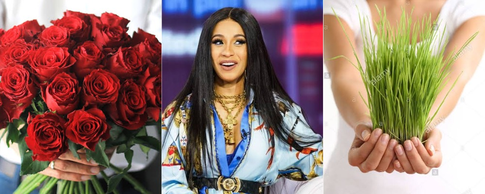 """""""Buy Him Grass, If He Buys You Flowers For Valentine's Day"""" - Cardi B Advises Women 1"""