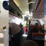 Confusion As Airline Announces There's No Ladder For Passengers To Alight At Lagos Airport 9