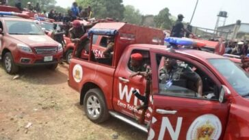 Police DPO Shoots Amotekun Operative For Arresting Fulani Herdsmen Who Destroyed Farm 5