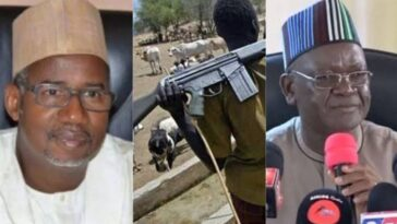 """Which Law Permits Herders To Carry AK-47?"" - Governor Ortom Tackles Bala Mohammed 6"