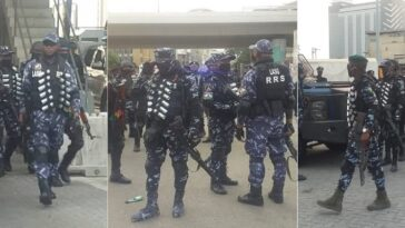 Police Tighten Security At Lekki Toll Gate Ahead Of Saturday's Protest In Lagos [Video] 6