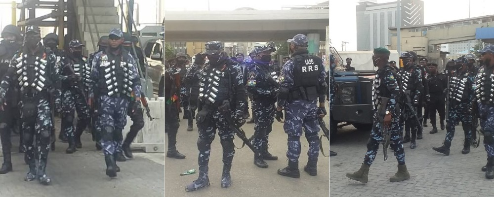 Police Tighten Security At Lekki Toll Gate Ahead Of Saturday's Protest In Lagos [Video] 1