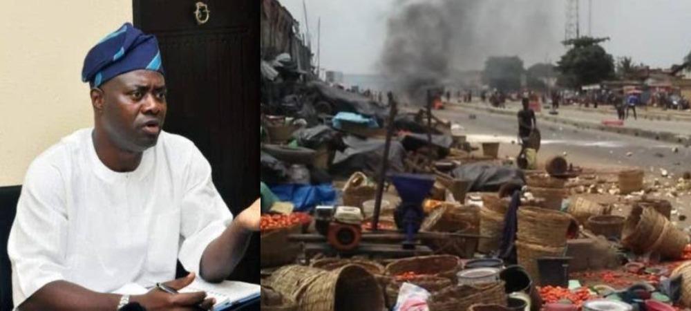 Oyo: Governor Makinde Shuts Down Shasha Market As Yoruba And Hausa Clash In Ibadan 1