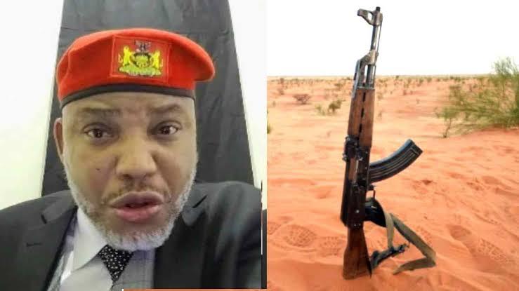 IPOB Leader, Nnamdi Kanu Reveals Why Every Nigerian Should Get An AK-47 1