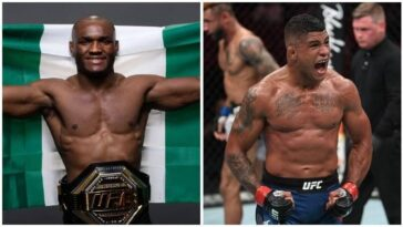 Nigeria's Kamaru Usman Knocks Out Gilbert Burns To Retain UFC Welterweight Title [Video] 11