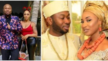Tonto Dikeh's Ex-Husband, Olakunle Churchill Marries Rosy Meurer Who Wrecked Their Marriage 2