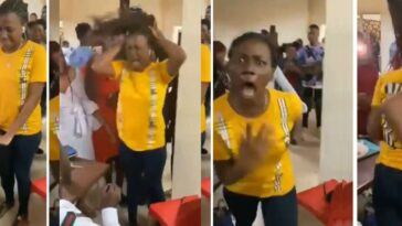 Nigerian Lady Runs Mad While Trying To Accept Proposal Ring From Her Boyfriend [Video] 13
