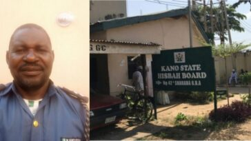 Kano Hisbah Commander Arrested After He Was Caught With Married Woman Inside Hotel 2