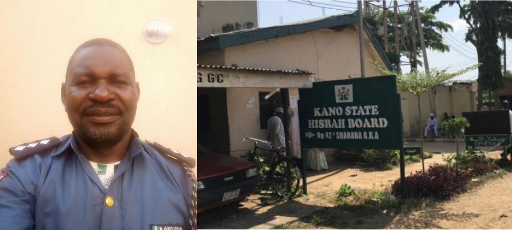 Kano Hisbah Commander Arrested After He Was Caught With Married Woman Inside Hotel 1