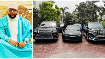 E-Money Gives Out Three Expensive Cars To 'Worthy Individuals' On His 40th Birthday [Photos] 11