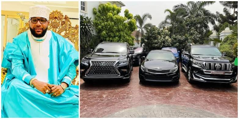 E-Money Gives Out Three Expensive Cars To 'Worthy Individuals' On His 40th Birthday [Photos] 1