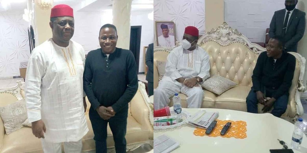 Fani-Kayode Visits Sunday Igboho, Says Nigerians Should Be Permitted To Carry Guns 1
