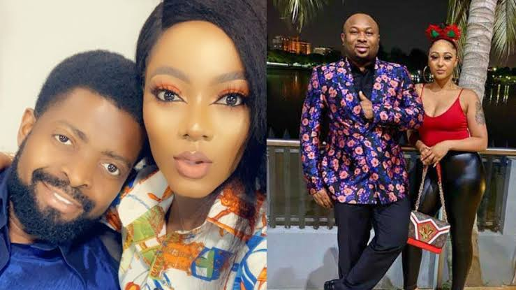 """Are You Ashamed To Call Churchill Your Husband?"" - Basket Mouth's Wife Asks Rosy Meurer 1"