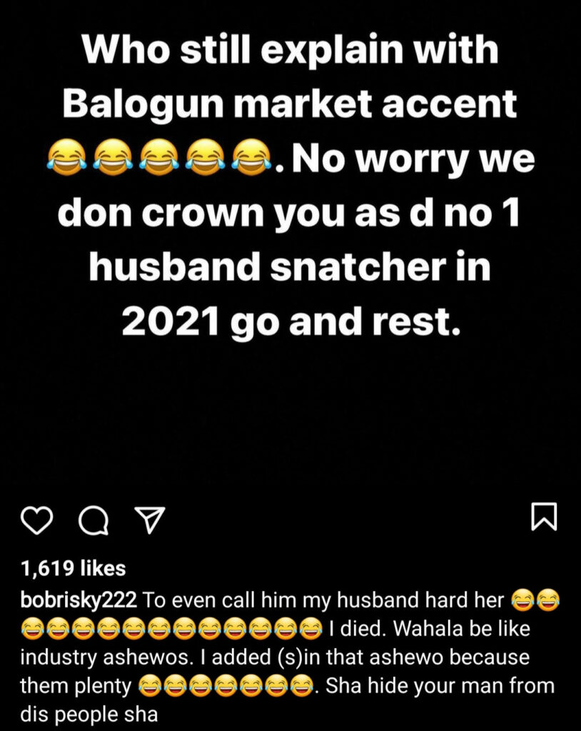 Rosy Meurer Has Clinched The Title Of Number One 'Husband Snatcher' This Year - Bobrisky 3