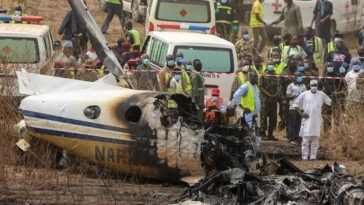 Nigerian Military Aircraft Crashes At Abuja Airport, Kills All Seven Personnel Onboard [Video] 7