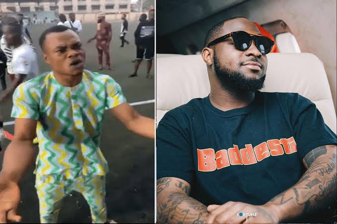 """'Die-Hard' Fan Entertains Davido With A Hilarious Performance Of His Hit Song """"IF"""" [Video] 1"""