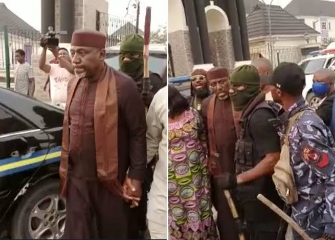 Senator Rochas Okorocha Arrested For Unsealing Property Seized By Imo Government [Video] 1