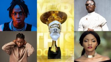 Fireboy, Wizkid, Simi And Omah Lay Wins Big At The Headies Awards - See Full List Of Winners 13