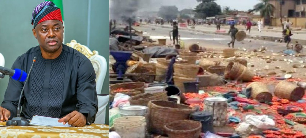 Oyo Government Reportedly Gives N2,000 Each To Yoruba Victims Of Shasha Market Crisis 1