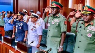 Nigerian Senate Confirms Buratai, Other Former Service Chiefs As Ambassadors 7