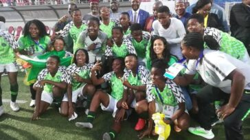 Super Falcons Makes History After Beating Equatorial Guinea 9-0 To Win Turkish Women's Cup 8