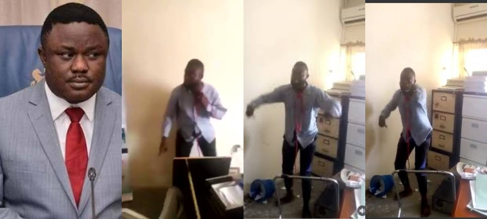 Governor Ayade's Aide Threatens To Commit Suicide Over Non-Payment Of Salary [Video] 1