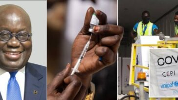 Ghana Becomes First Country To Receive COVID-19 Vaccine Through WHO's COVAX Program 7