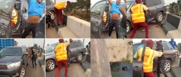 Driver Knocks Policeman Off A Bridge While Trying To Escape LASTMA Officials [Video] 26