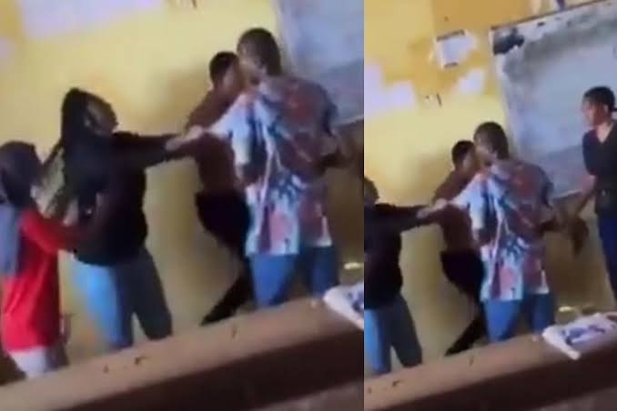 Edo Student Fights And Tears Lecturer's Shirt For Not Allowing Her To Write An Exam [Video] 1