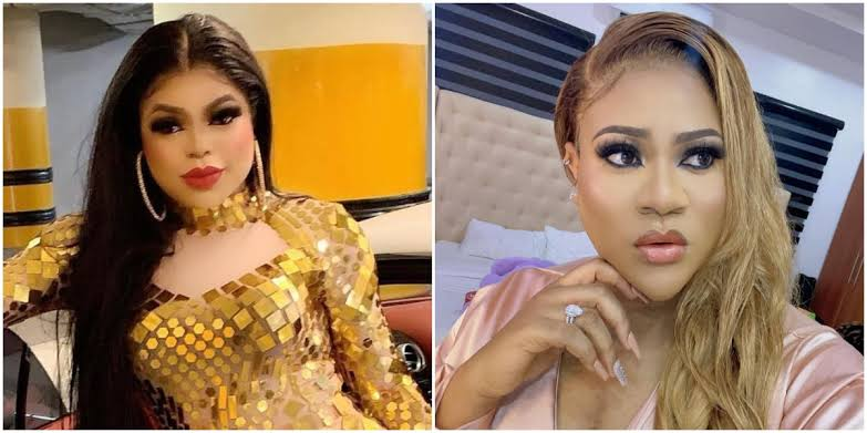 Bobrisky And Nkechi Blessing Fights Dirty On Instagram Over 'Tattoo Issues' 1