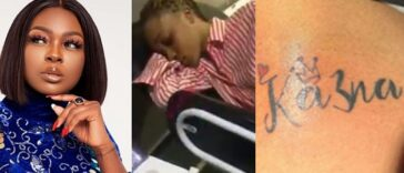 """You're Very Desperate"" - Ka3na Reacts After Fan Who Tattooed Her Name Attempted Suicide 26"
