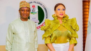 Tonto Dikeh Becomes Peace Ambassador For Nigerian Christian Pilgrim Commission 6