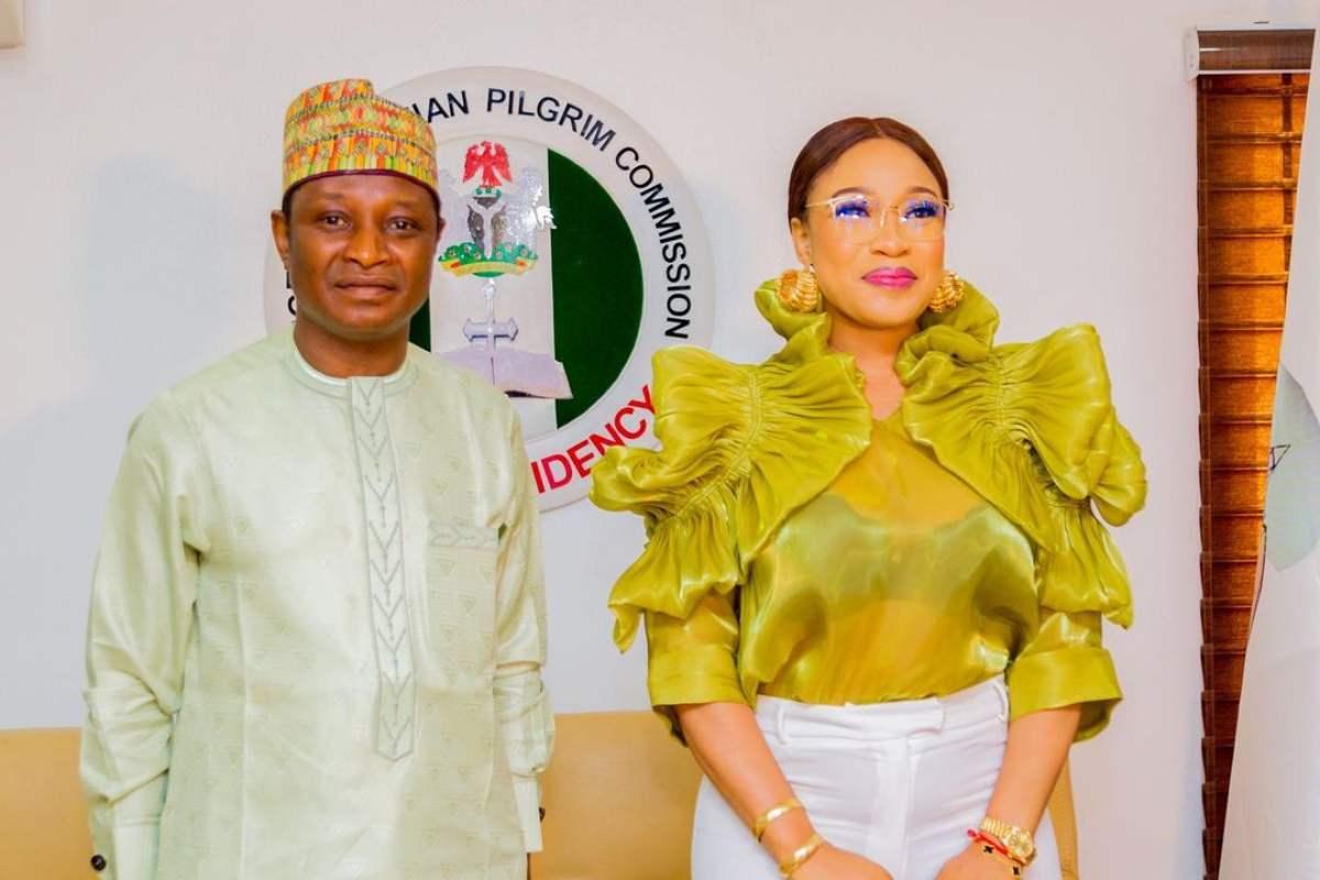 Tonto Dikeh Becomes Peace Ambassador For Nigerian Christian Pilgrim Commission 1