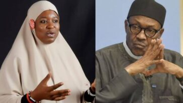 Buhari's Words Are Meaningless, His Body Language Enables Terrorists - Aisha Yesufu 8