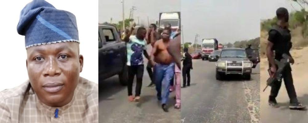 DSS Breaks Silence On Attempt To Arrest Yoruba Activist, Sunday Igboho 1