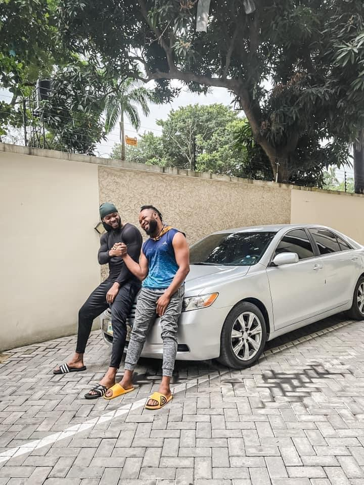Singer Flavour Gift His Childhood Friend 'Asuwa Dede' A Brand New Car [Photos] 4