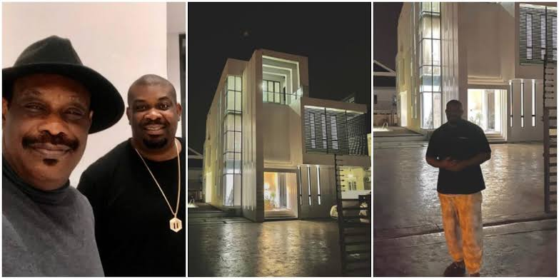 Music Mogul, Don Jazzy Show Off His Newly Acquired Mansion, Dad Celebrates [Photos] 1