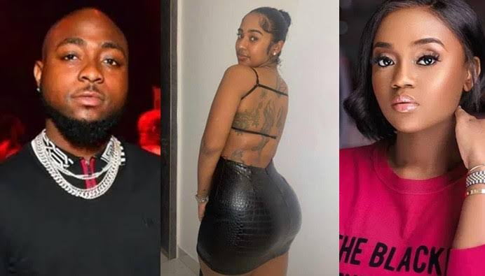 Davido Allegedly Dumps Chioma, Steps Out With American Girlfriend Mya Yafai [Video] 1