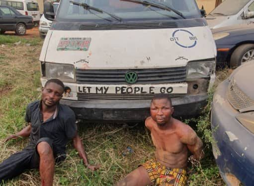 Two Suspected Armed Robbers Arrested After Engaging Police In Gun Battle In Ogun 1