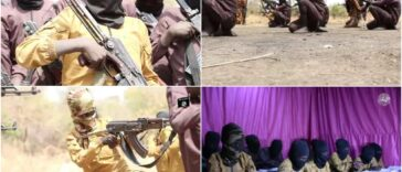 Boko Haram Releases Video Of Children Undergoing Combat Training In A Camp [Photos] 26
