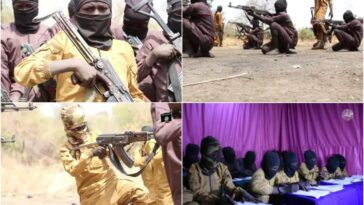 Boko Haram Releases Video Of Children Undergoing Combat Training In A Camp [Photos] 13